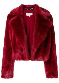 MICHAEL Michael Kors cropped faux fur jacket