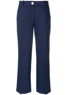 MICHAEL Michael Kors cropped straight-leg trousers