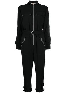MICHAEL Michael Kors cropped zip jumpsuit