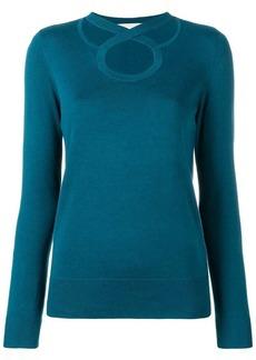 MICHAEL Michael Kors cross neck knitted sweatshirt