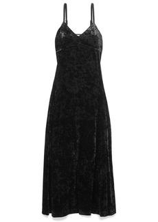 MICHAEL Michael Kors Crushed-velvet Maxi Dress