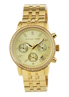 MICHAEL Michael Kors Crystal Chronograph Bracelet Watch