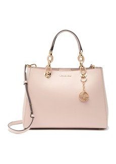 MICHAEL Michael Kors Cynthia Medium Leather Sathcel