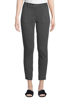 MICHAEL Michael Kors D-Ring Ponte Straight-Leg Pants