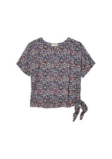 MICHAEL Michael Kors Dainty Bloom Side Tie Top