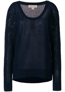 MICHAEL Michael Kors deep u neck sweater