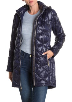 MICHAEL Michael Kors Diamond Quilt Packable Jacket