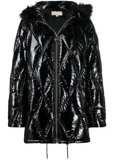 MICHAEL Michael Kors diamond-quilted padded coat