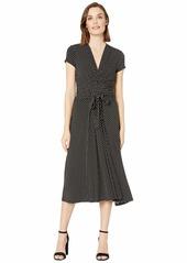 MICHAEL Michael Kors Dot Midi Wrap Dress
