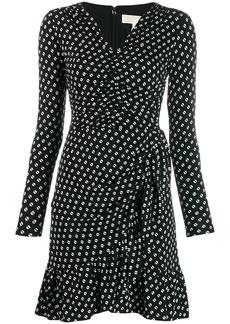 MICHAEL Michael Kors dotted print dress