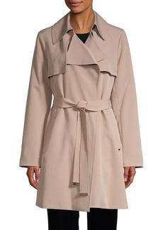MICHAEL Michael Kors Drape Trench Coat