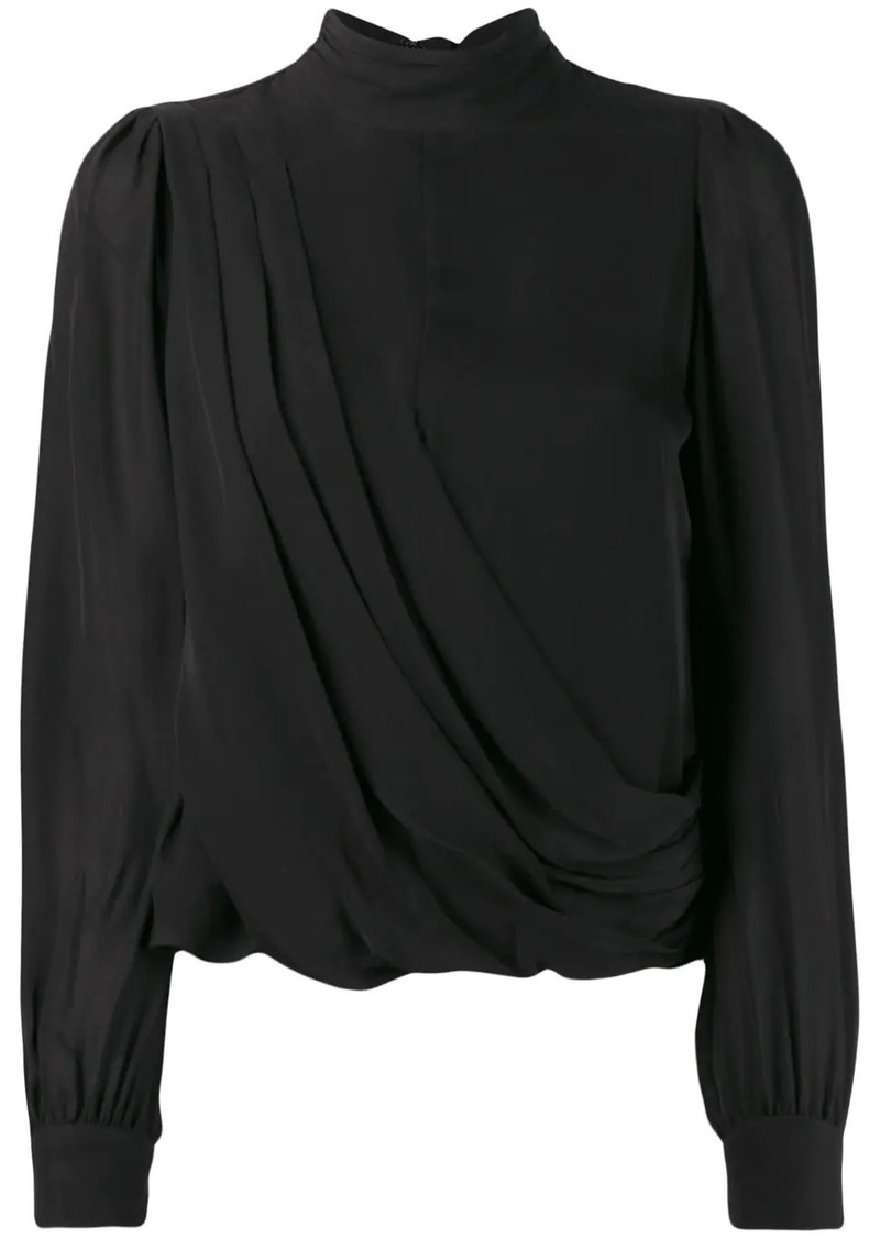 MICHAEL Michael Kors draped blouse