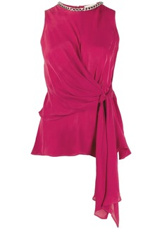 MICHAEL Michael Kors draped top