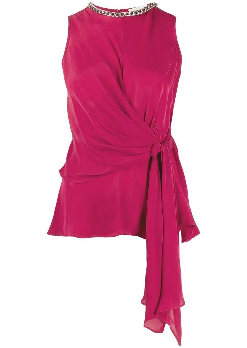 MICHAEL Michael Kors draped top