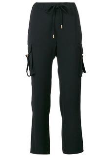 MICHAEL Michael Kors drawstring cropped trousers