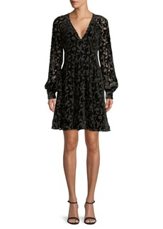 MICHAEL Michael Kors Embellished Burnout Dress