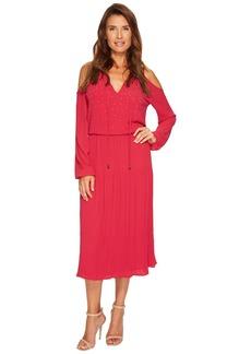MICHAEL Michael Kors Embellished Cold Shoulder Dress