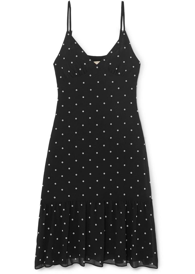 MICHAEL Michael Kors Embellished Crepe Dress