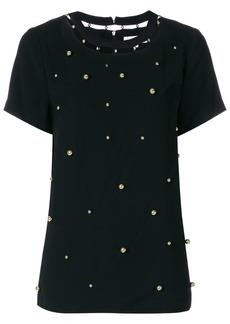 MICHAEL Michael Kors embellished cutout blouse