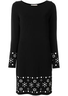 MICHAEL Michael Kors embellished jersey dress