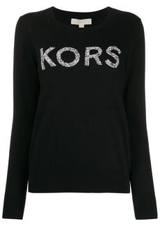 MICHAEL Michael Kors embellished logo jumper