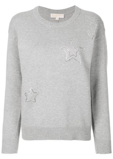 MICHAEL Michael Kors embellished star sweatshirt