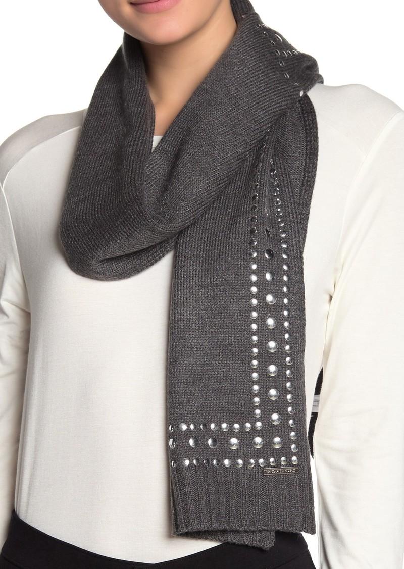MICHAEL Michael Kors Embellished Stud Wrap Scarf