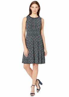 MICHAEL Michael Kors Enchanted Sleeveless Border Dress