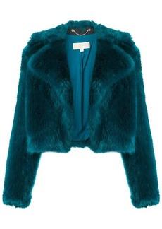 MICHAEL Michael Kors faux fur cropped jacket