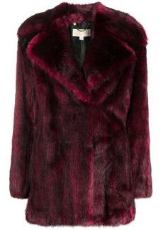 MICHAEL Michael Kors faux-fur mid-length coat