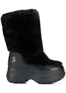 MICHAEL Michael Kors faux fur platform boots