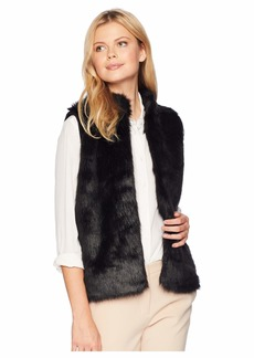 MICHAEL Michael Kors Faux Fur Sweater Back Vest