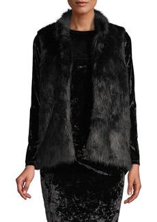MICHAEL Michael Kors Faux Fur Sweater Vest