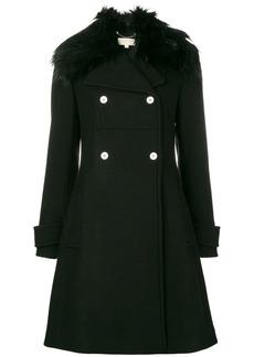 MICHAEL Michael Kors faux fur-trim coat