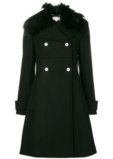 MICHAEL Michael Kors faux fur-trim coat
