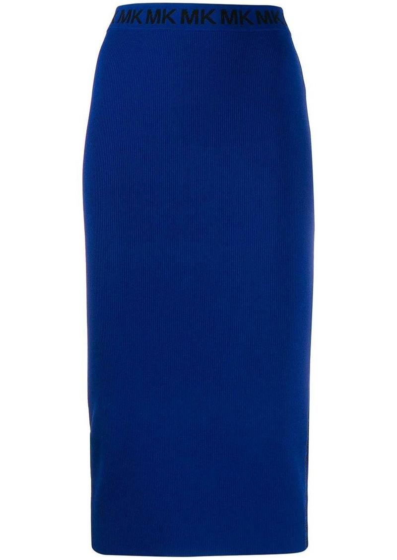 MICHAEL Michael Kors fitted midi skirt