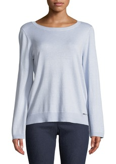 Flare-Sleeve Sweater