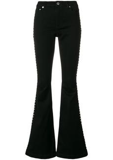 MICHAEL Michael Kors flared stud trousers