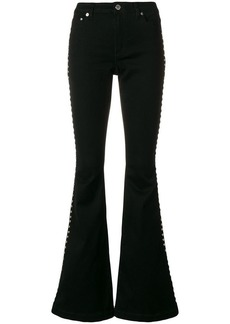 MICHAEL Michael Kors flared stud trousers