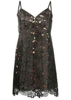 MICHAEL Michael Kors floral appliqué dress