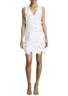 MICHAEL Michael Kors Floral-Applique Lace Dress