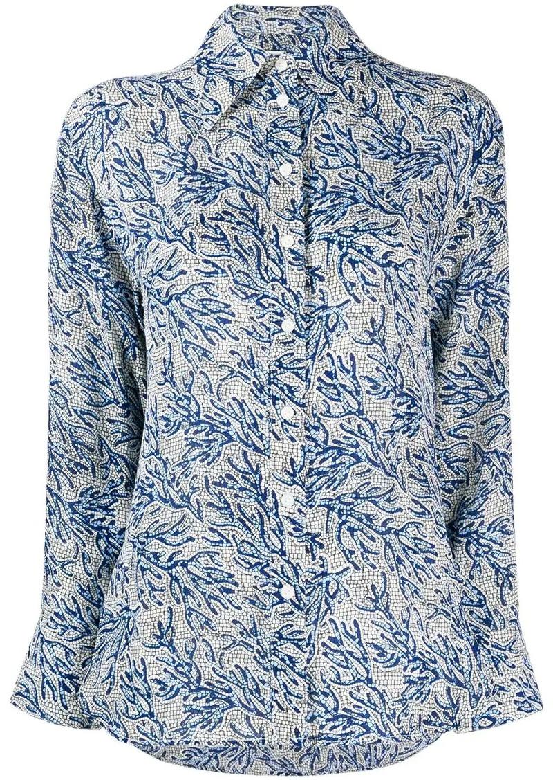 MICHAEL Michael Kors floral blouse