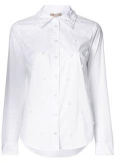 MICHAEL Michael Kors floral embellishment shirt