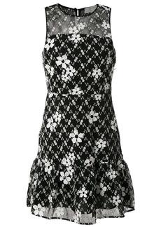 MICHAEL Michael Kors floral embroidered mini dress