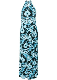 MICHAEL Michael Kors floral-print halterneck maxi dress