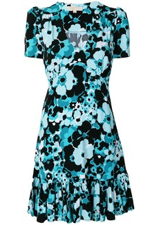 MICHAEL Michael Kors floral-print ruffled mini dress