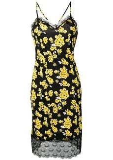 MICHAEL Michael Kors floral-print slip dress