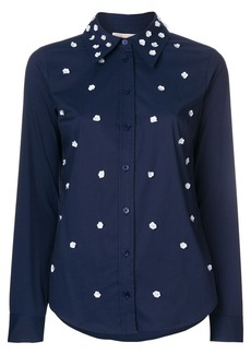 MICHAEL Michael Kors flower embellished shirt