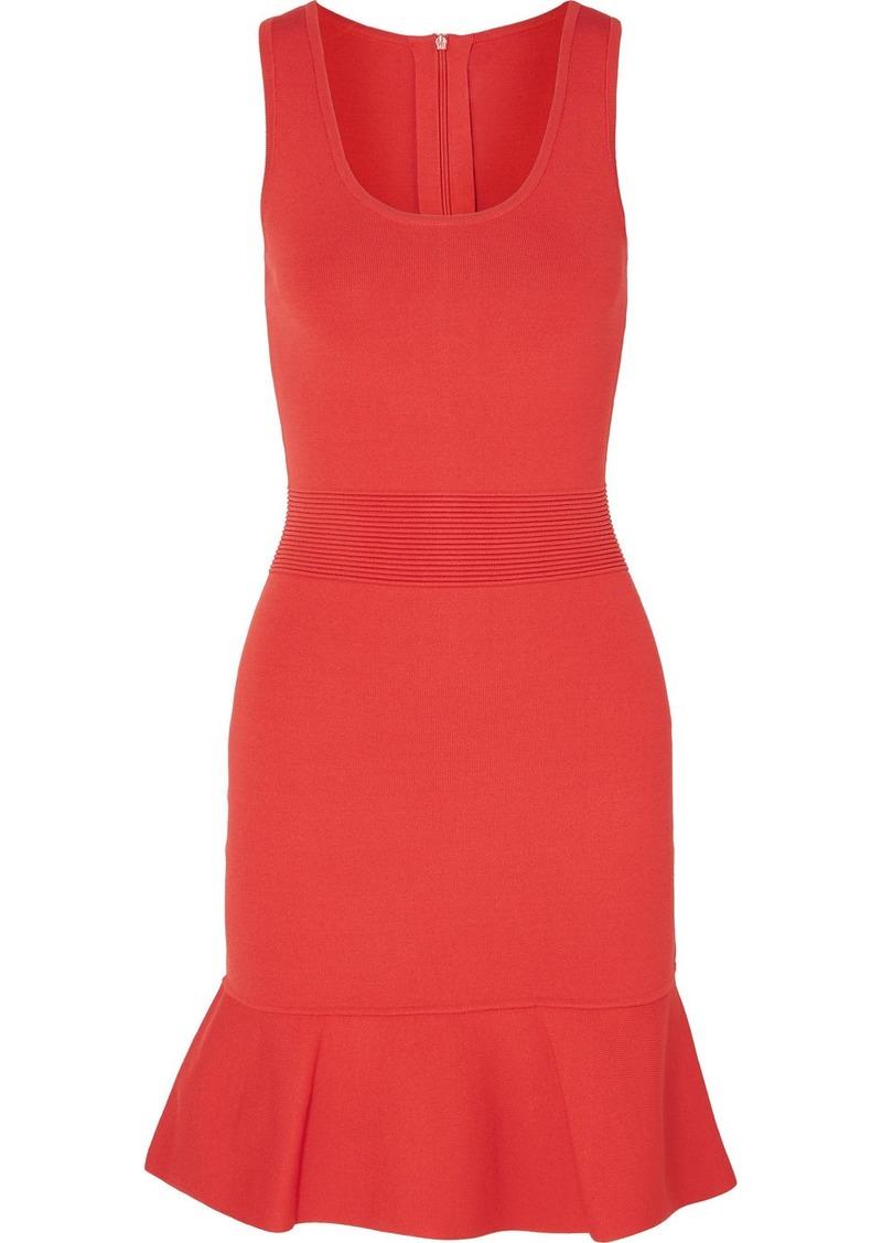 MICHAEL Michael Kors Fluted Stretch-knit Mini Dress