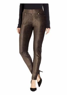 MICHAEL Michael Kors Foil Cord Pull-On Leggings